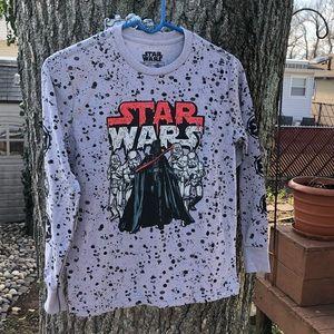 NWT Star Wars Darth Vader long sleeve shirt